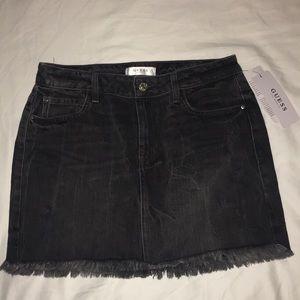 GUESS Stella Destroy Mini Skirt Size Small NWT